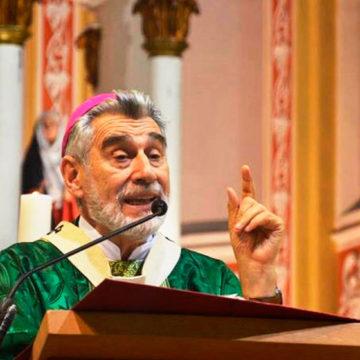 """Mons. Sergio Gualberti: «pido desterrar la violencia, el odio y dejar de matarnos entre hermanos"""""""