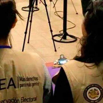 Llegarán misiones de la OEA y UNIORE para observar las elecciones subnacionales.