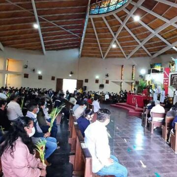 El Domingo de Ramos: La pasión de Cristo es la pasión del pueblo, así se inició la semana santa