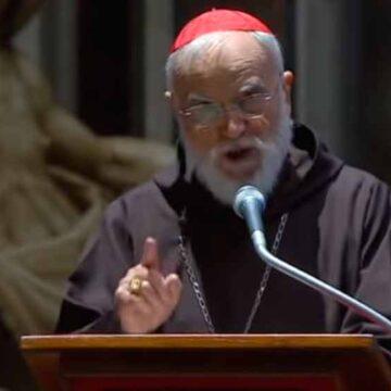 """Cantalamessa: """"¡La fraternidad católica está herida!"""". Cultivar la unidad"""